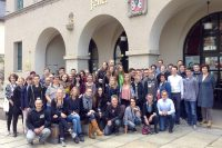 Gruppenbild Geschichtscamp 2015 in Plauen